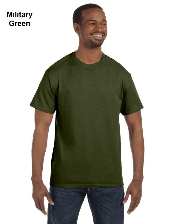Jerzees Adult 5.6 oz. DRI-POWER ACTIVE T-Shirt Military Green