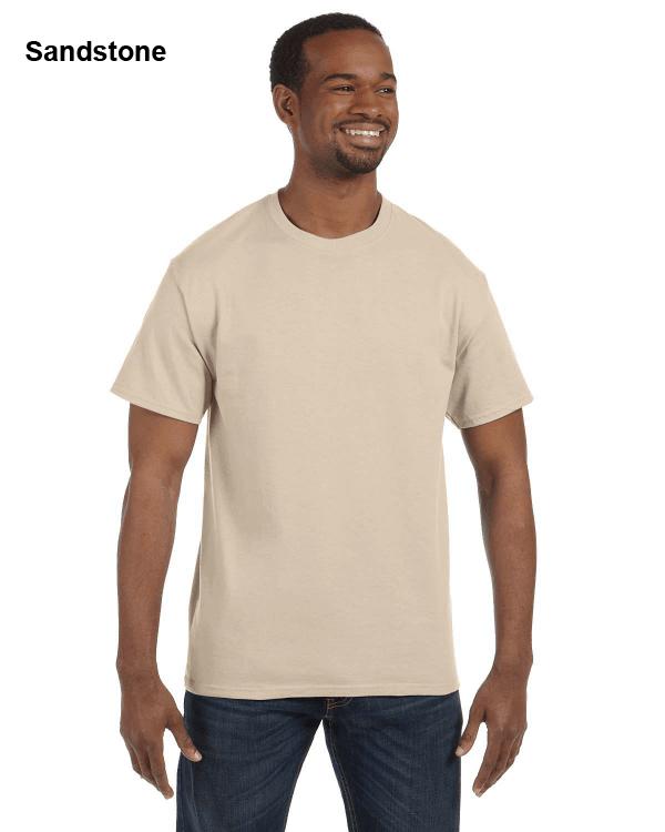 Jerzees Adult 5.6 oz. DRI-POWER ACTIVE T-Shirt Sandstone