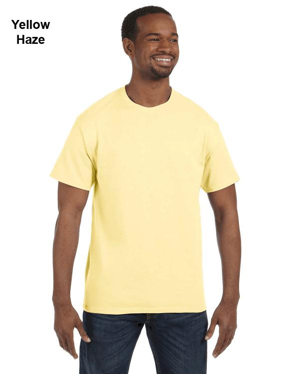 Jerzees Adult 5.6 oz. DRI-POWER ACTIVE T-Shirt Yellow Haze