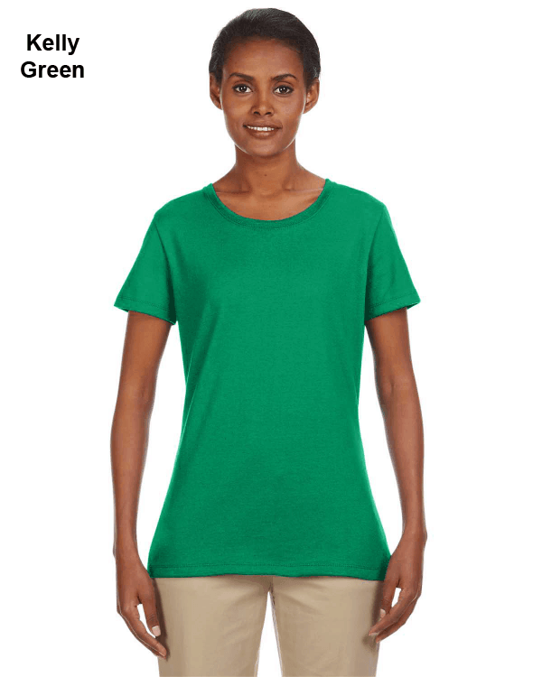 Jerzees Ladies 5.6 oz. DRI-POWER ACTIVE T-Shirt Kelly Green