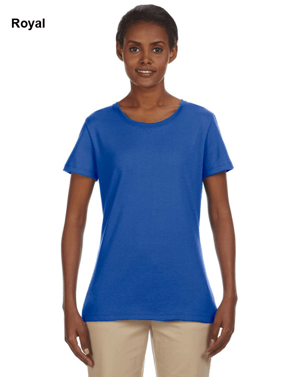 Jerzees Ladies 5.6 oz. DRI-POWER ACTIVE T-Shirt Royal