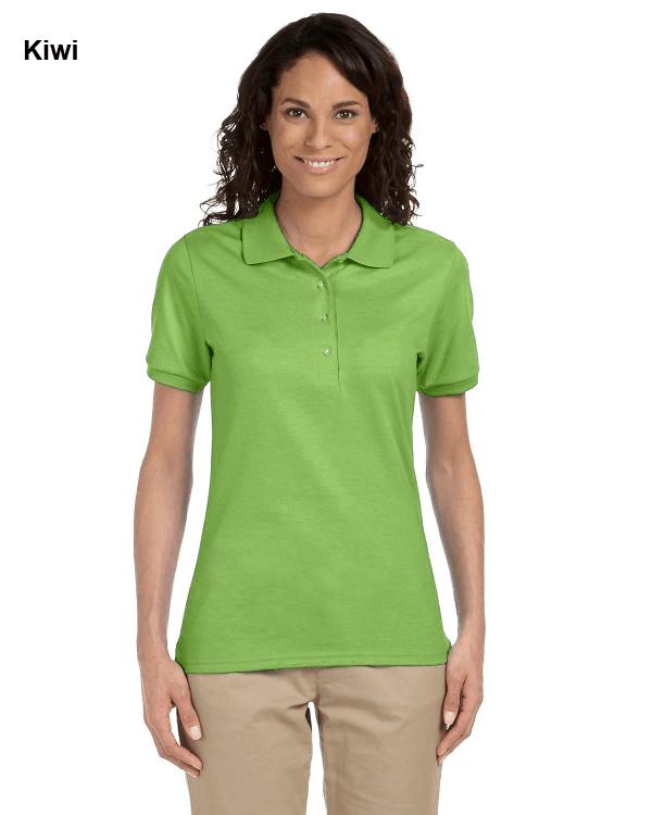 Jerzees Ladies 5.6 oz. SpotShield Jersey Polo Shirt Kiwi