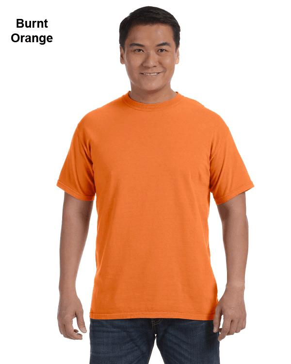 Comfort Colors Adult Heavyweight RS T-Shirt Burnt Orange