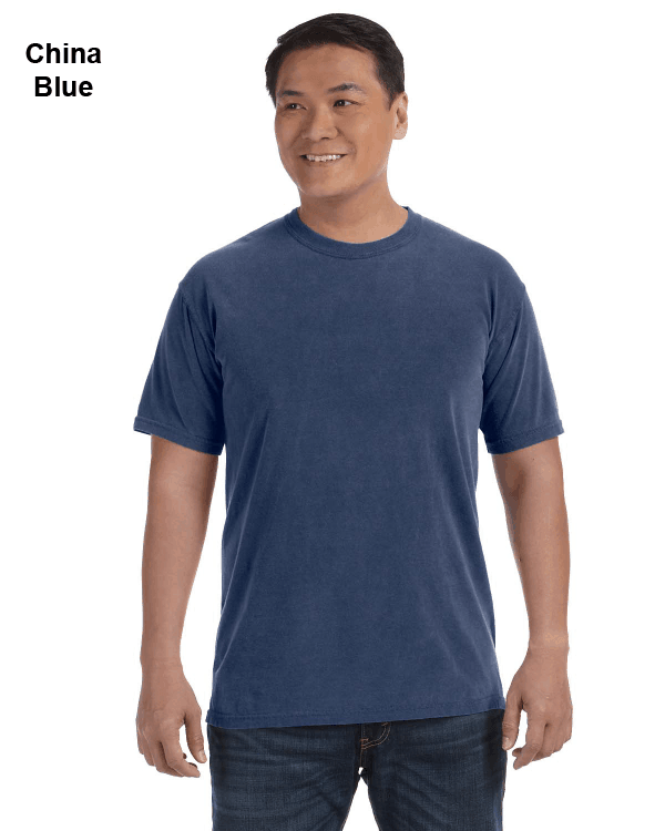 Comfort Colors Adult Heavyweight RS T-Shirt China Blue