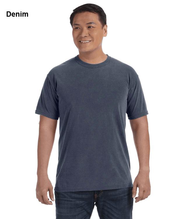 Comfort Colors Adult Heavyweight RS T-Shirt Denim
