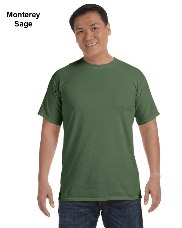 Comfort Colors Adult Heavyweight RS T-Shirt Monterey Sage