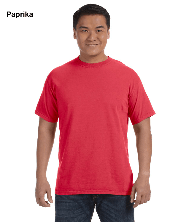 Comfort Colors Adult Heavyweight RS T-Shirt Paprika