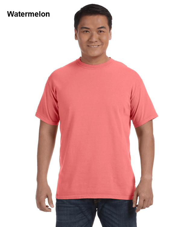 Comfort Colors Adult Heavyweight RS T-Shirt Watermelon