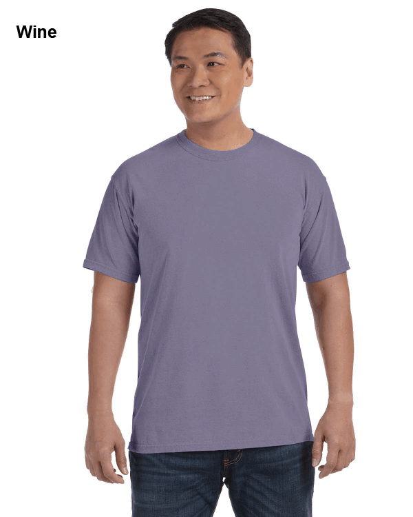 Comfort Colors Adult Heavyweight RS T-Shirt Wine