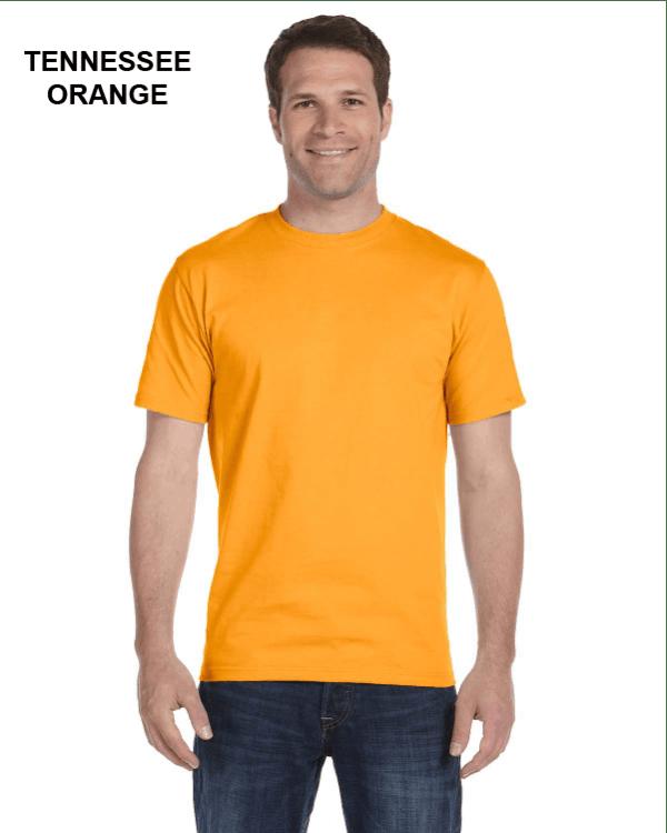 Gildan Adult 5.5 oz., 50/50 T-Shirt Tennessee Orange