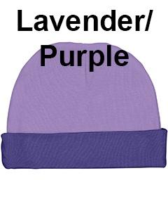 Rabbit Skins Infant Baby Rib Cap Lavender/Purple