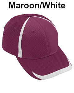 Augusta Drop Ship Adult Change Up Cap Maroon/White