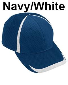 Augusta Drop Ship Adult Change Up Cap Navy/White