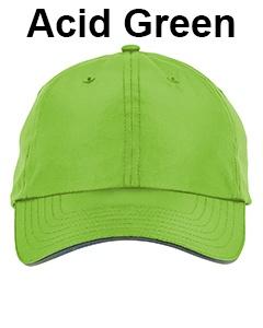 Core 365 Adult Pitch Performance Cap Acid Green