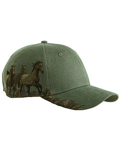 Dri Duck Brushed Cotton Twill Mustang Cap