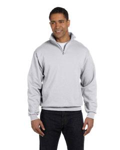 Jerzees Adult 8 oz. NuBlend® Quarter-Zip Cadet Collar Sweatshirt - MC955M