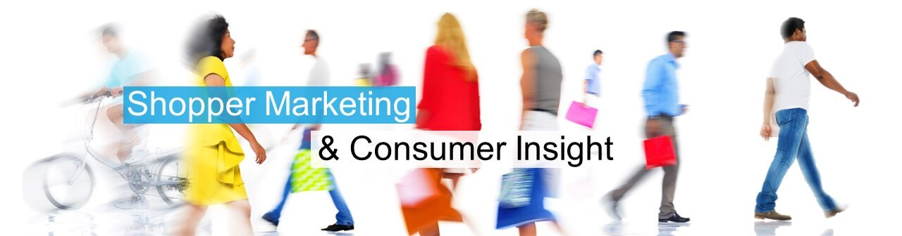 Shopper marketing & consumer insight