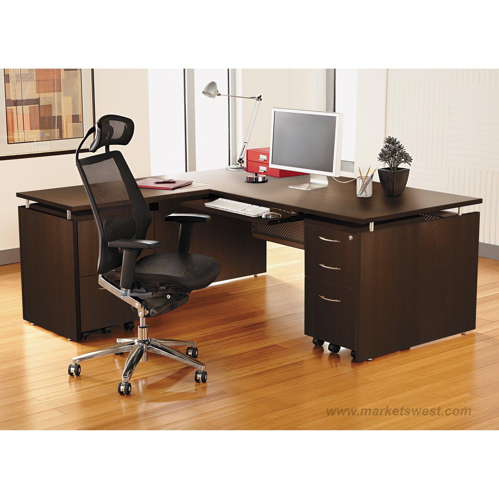 Alera Sedina Series L Shape Desk