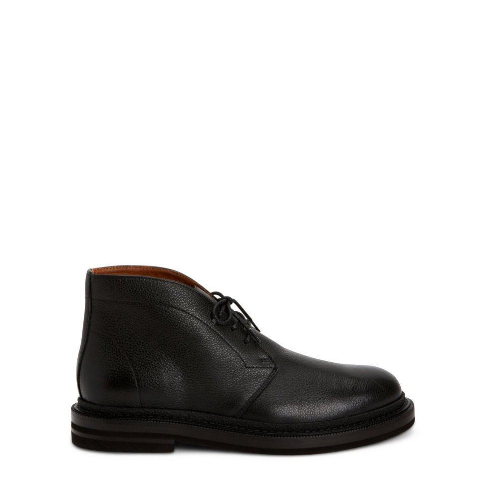Aquatalia Harry Black In Size 11.5 - Leather - Made In Italy