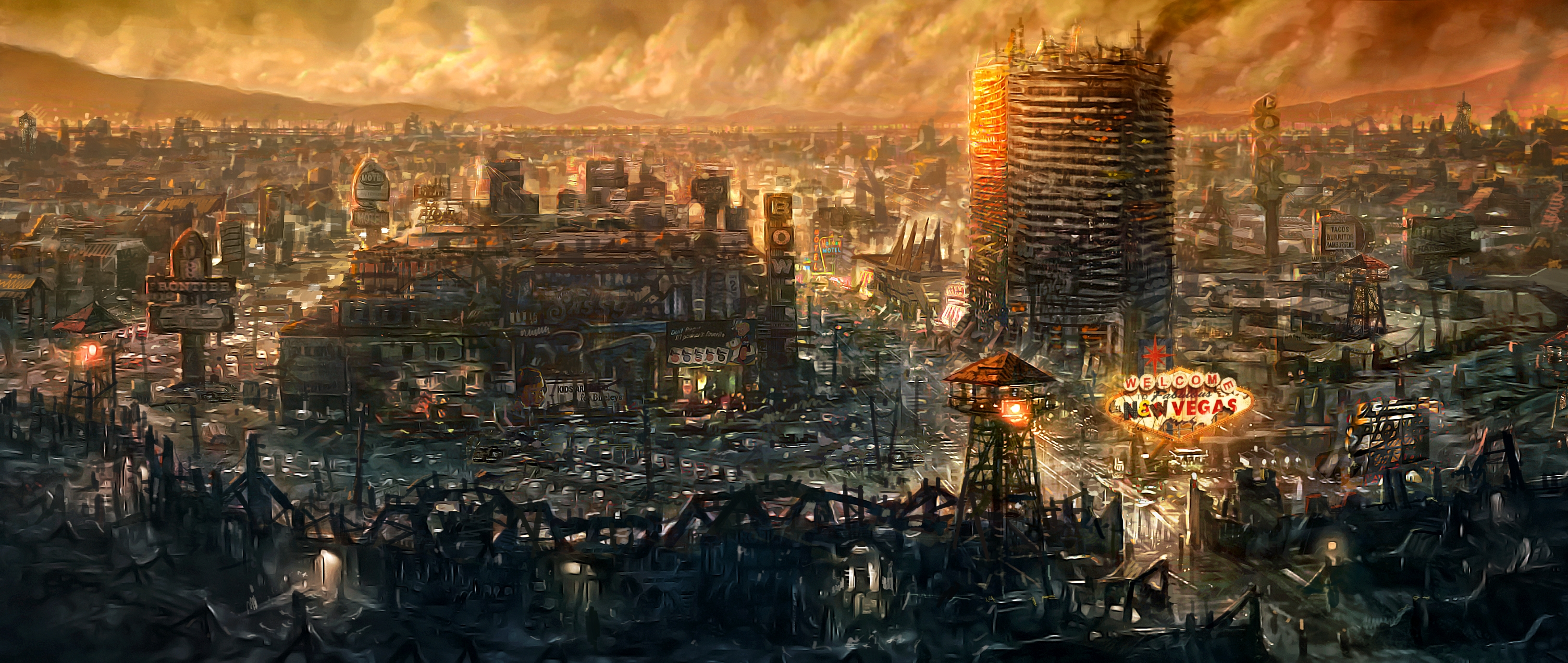 New Vegas Concept Art