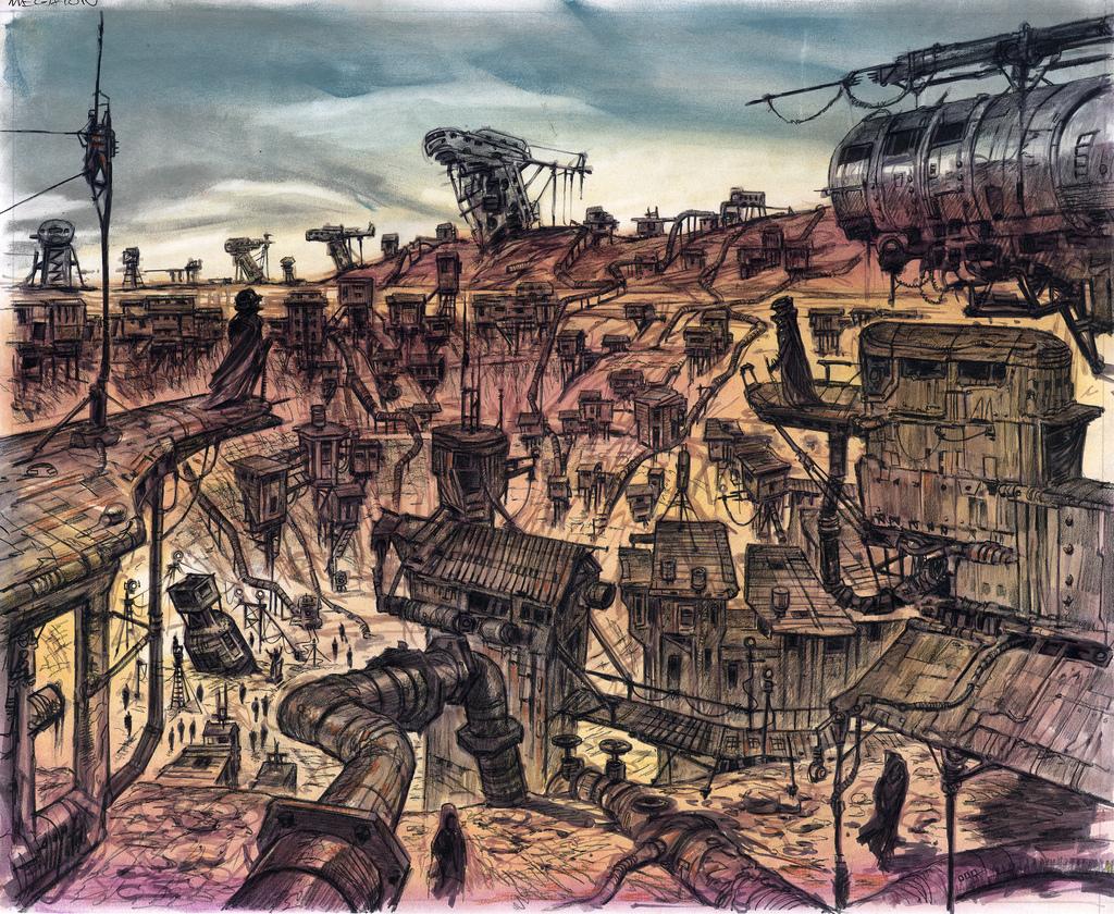 New Vegas Fallout Concept Art