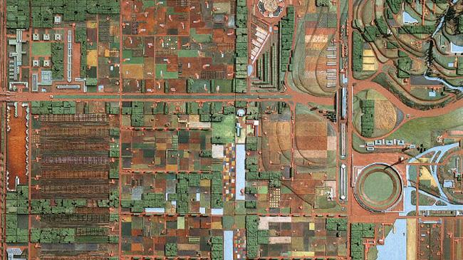 Broadacre City, Frank Lloyd Wright's sprawling vision