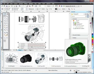 Corel DESIGNER Technical Suite X5 is a specialized application for technical illustration