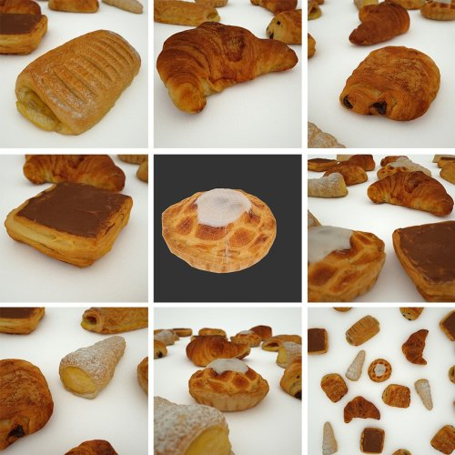 mark-florquin-3d-scanning-scan-photogrammetry-holographer-realistic-3d-Coffeecake-Food