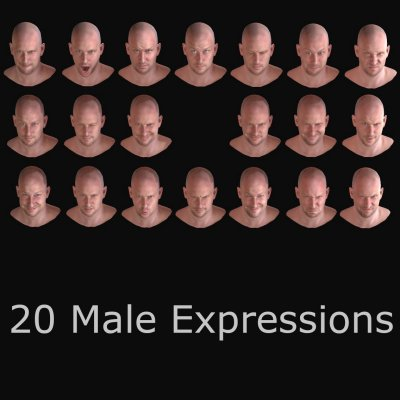 20 Male Expressions