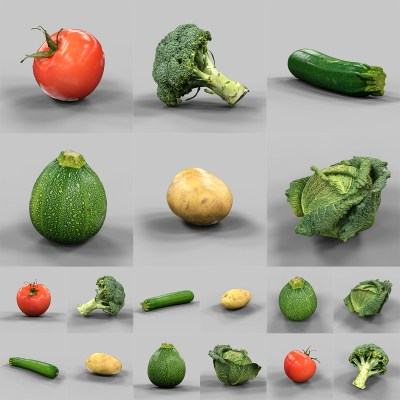 6 Vegetable Collection