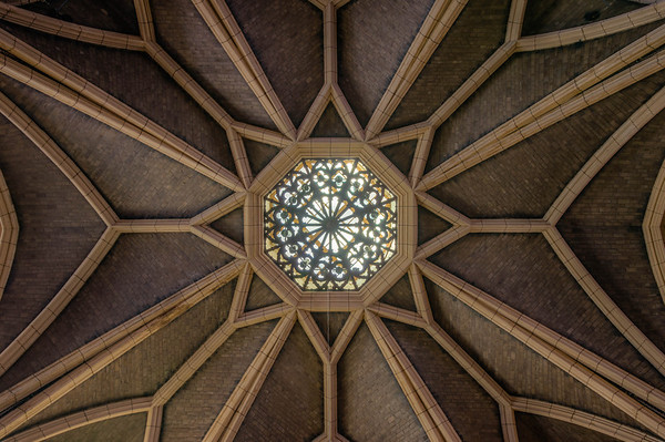 Hennepin Avenue United Methodist Church, ceiling, HDR, Minneapolis