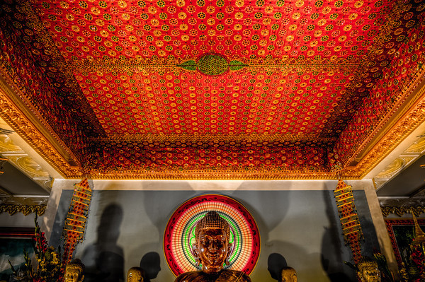 Watt Munisotaram, Buddhist Temple, Buddhist Temple HDR, HDR photo,Minnesota Cambodian Buddhist Society, Hampton