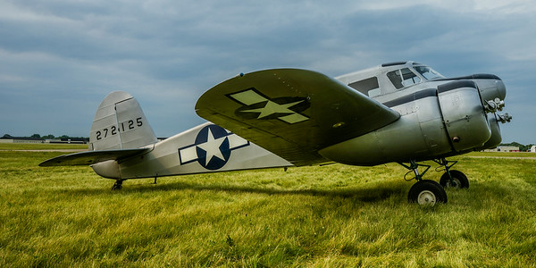 Cessna T-50, Bamboo Bomber, Air Expo 2014, Vintage Planes, World War 2 Planes