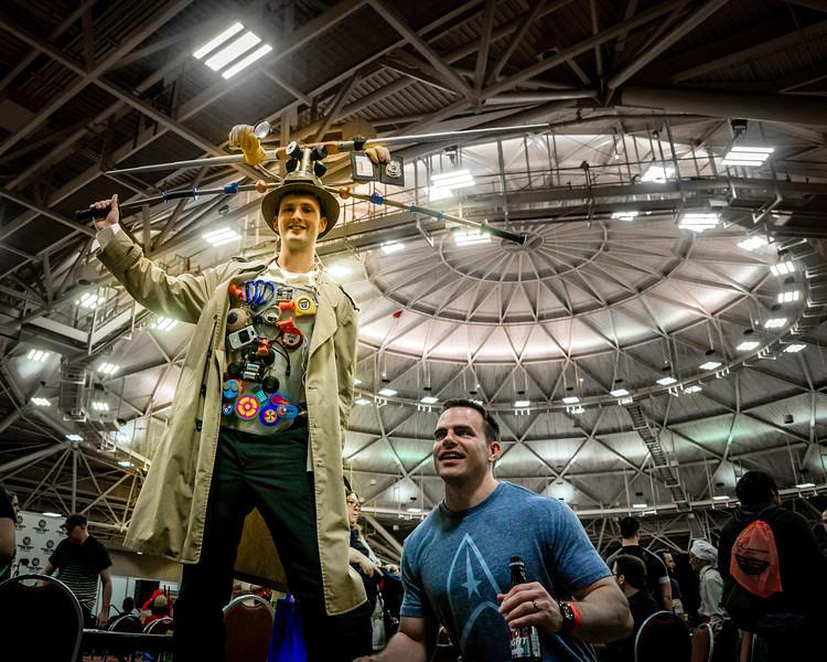 Minneapolis Comic Con 2014, cosplay comic con, Inspector Gadget costume