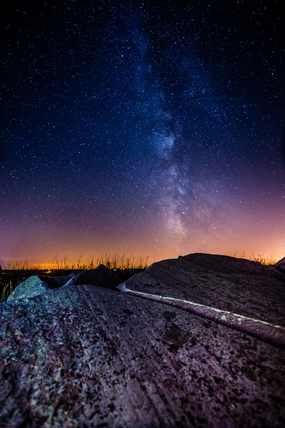 Touch the Sky Prairie, Milky Way, Astrophotography