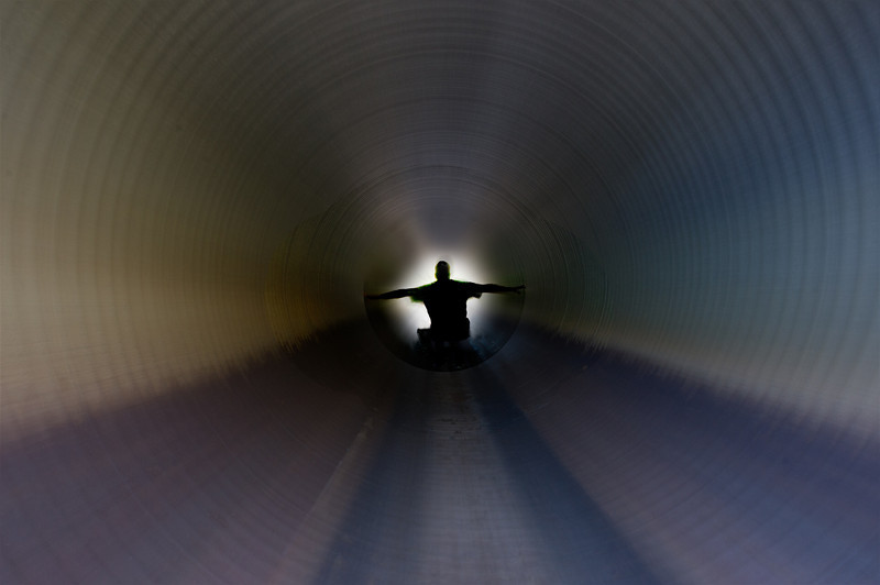 Tunnel, Holding On, Zoom, Time Travel, Culvert