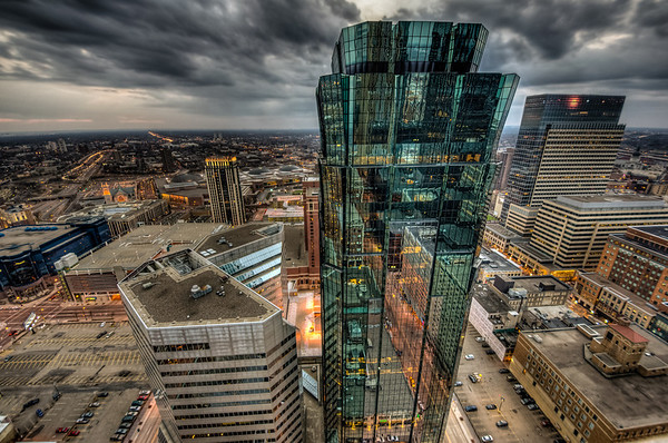 AT&T Tower HDR, Minneapolis HDR, Target Corporation Building HDR, Foshay Tower Observation Deck HDR, W Hotel Observation Deck
