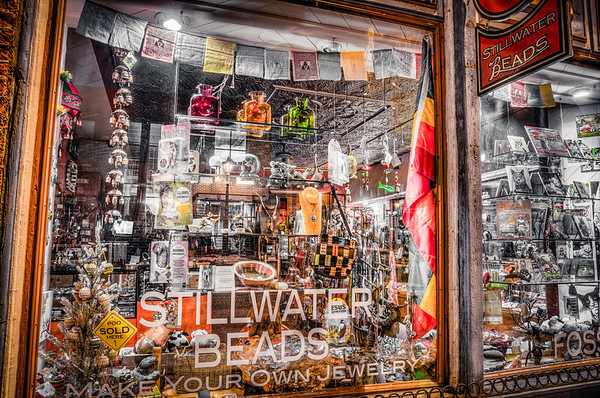 Stillwater Beads, Minnesota, Shop Windows, Window Shopping