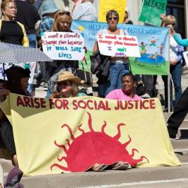 Arise for social justice 2015