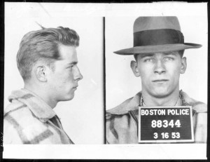 The young punk. Bulger, 60 years ago on the eve of St. Patrick's Day. (AP Photo/Boston Police)