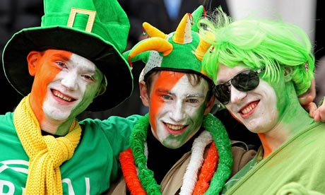 Gays are welcome in Dublin's St. Patrick's Day parade. Image by The Guardian.