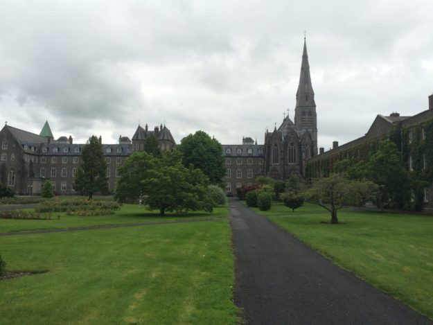 St. Patrick's College, Maynooth, with chapel to the right.