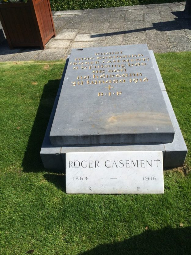Casement's grave at Glasnevin.