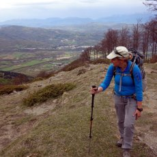 Exploring Monti della Laga after the Italian earthquake