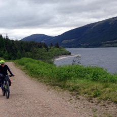 My journey along the Great Glen Way on a mountain bike