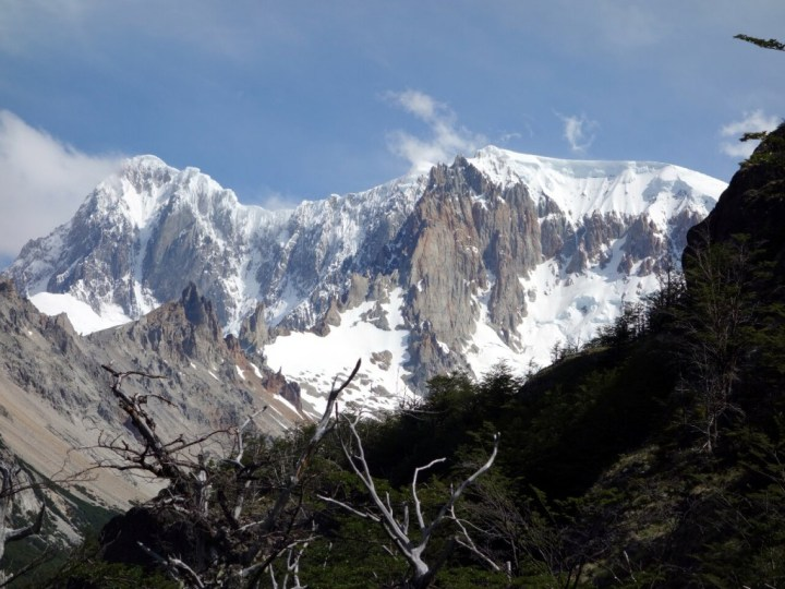 Cerro San Lorenzo: this peak is temperamental