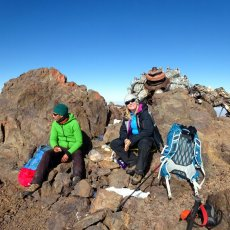 Is this the world's strangest summit cairn?