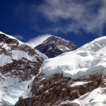 Everest from Nepal: what looks like a plume of cloud is hatred seething across the summit