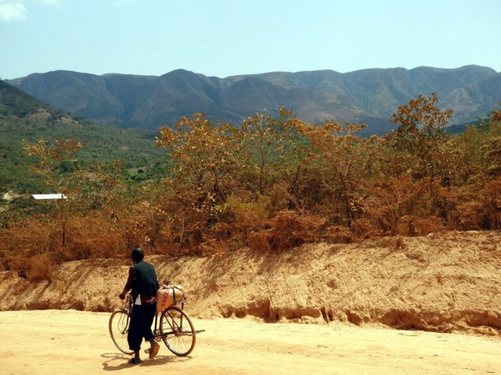 The central ridge of the Mafinga Hills, seen from the road to Chisenga, Malawi