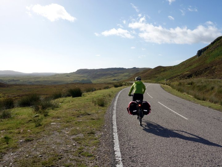 The last of the mountain sections beyond Bettyhill
